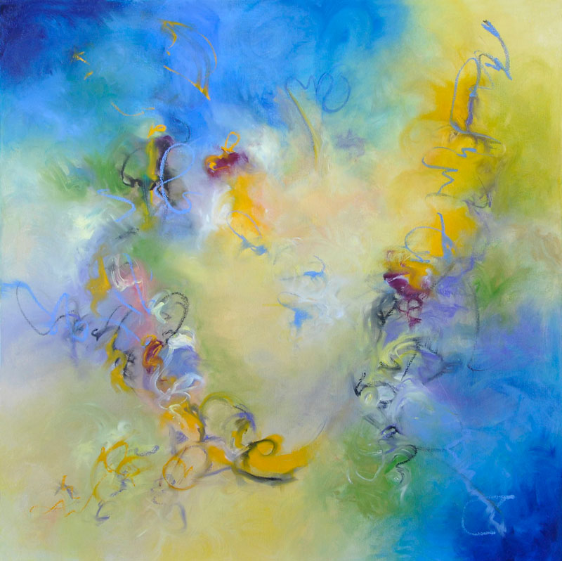 The-Fairies-of-the-Universe-Are-Here-to-Surprise-and-Delight-You-oil-and-oil-stick-on-canvas-48x48-G30013