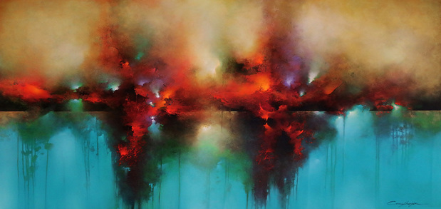 Blazing Sea by Cody Hooper at Pippin Contemporary