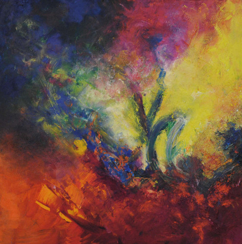 Bloom Where You're Planted by Aleta Pippin at Pippin Contemporary