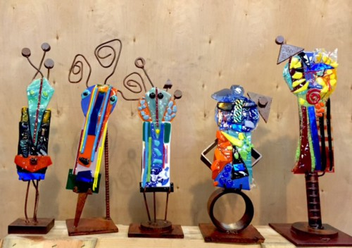 Suzanne Wallace Mears Christmas Totems