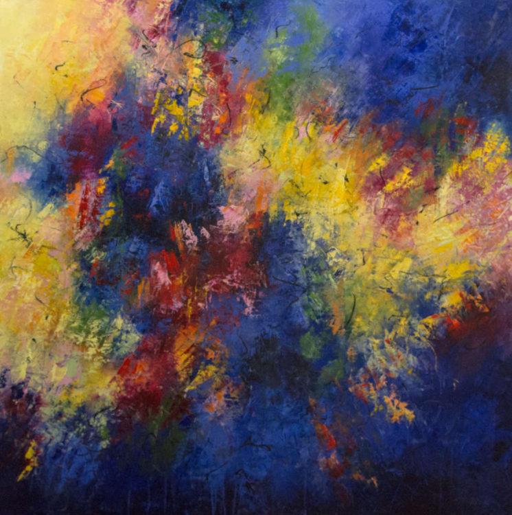 Color Burst by Santa Fe artist Aleta Pippin