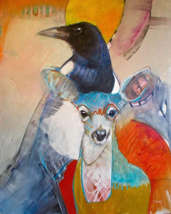 Curiouser & Curiouser by Rebecca Haines at Pippin Contemporary