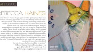 Rebecca Haines Santa Fean Magazine