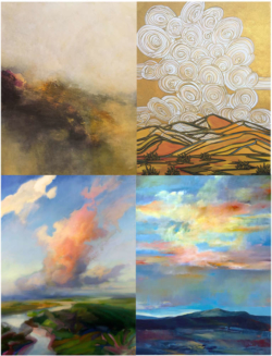 Modern Art Paintings Of Landscapes