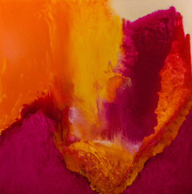 Magenta Pour by Aleta Pippin, Santa Fe artist