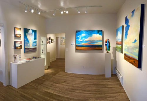 Gina Rossi art at Pippin Contemporary