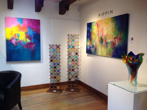 Aleta Pippin Paintings at Pippin Contemporary