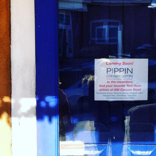 Pippin Contemporary is moving to 409 Canyon Road