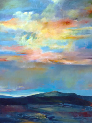 Sundown by Gina Rossi at Pippin Contemporary