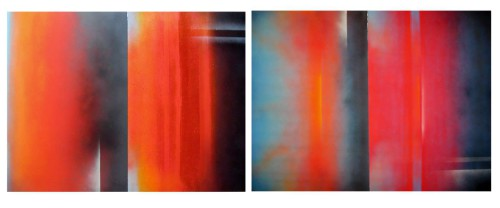 interphase 1 and 2, Griffith, at Pippin Contemporary