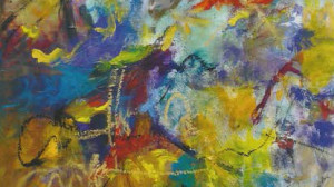 Summer Medley by abstract painter, Aleta Pippin