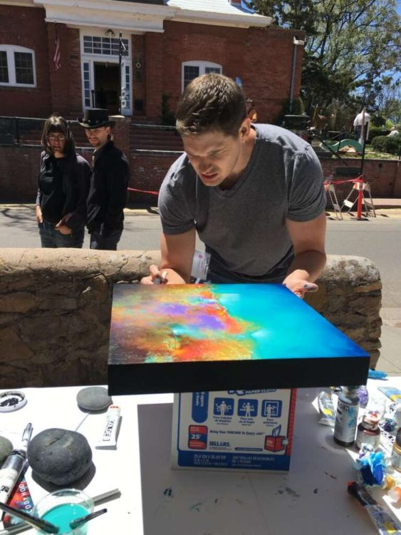 Cody Hooper, Paint Out
